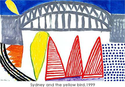 作品photo:Sydney and the yellow bird,1999