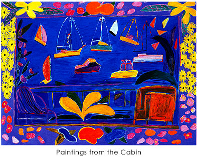 作品photo:Paintings from the Cabin